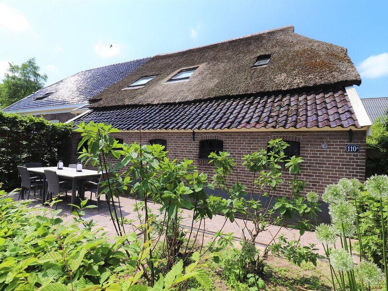 Large holiday home in Dalerveen with a terrace, holiday rental in Erica