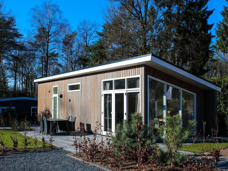 Attractive chalet by the pool, on the Hoge Veluwe, location de vacances à Apeldoorn