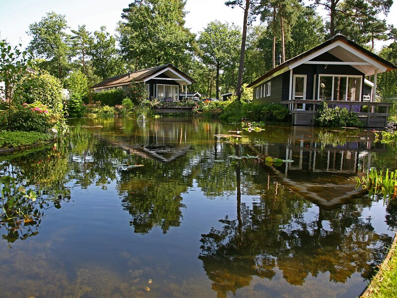 Atmospheric house on the water, surrounded by nature, holiday rental in Neede