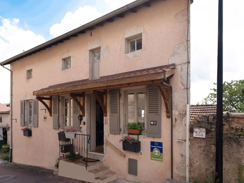 Lovely Holiday Home in Saint Haon le Chatel with Jacuzzi, location de vacances à Briennon