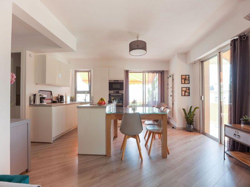 Serene Apartment in Top Location in Menton near Sea, casa vacanza a Sainte-Agnes
