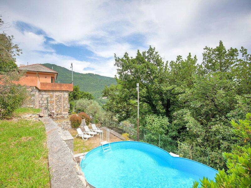 Splendid Villa in Recco with Private Pool, holiday rental in Recco