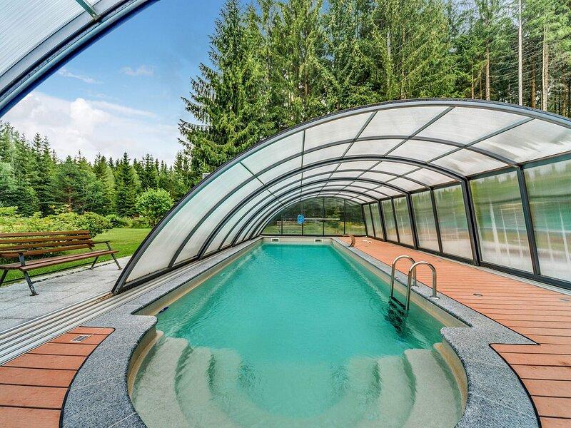 Luxurious Apartment in Jägersgrün with 2 Sauna near Beach, alquiler vacacional en Treuen