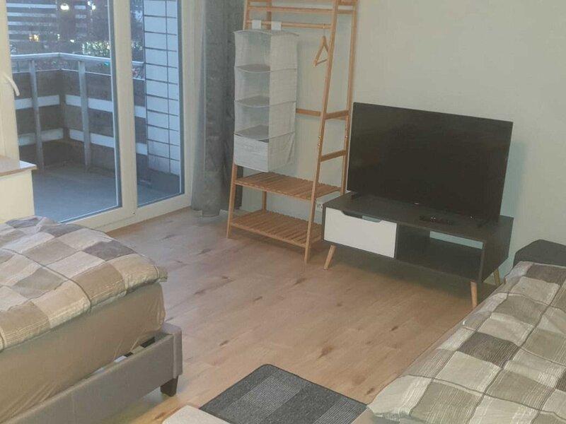 Simple Apartment in Kassel near Lake with Terrace, holiday rental in Nieste