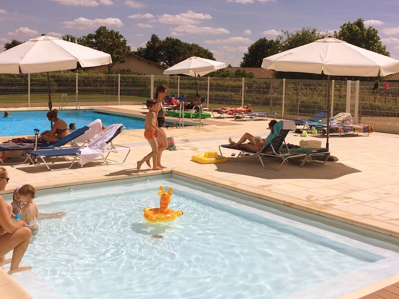 Modern villa with private pool in the beautiful Loire, holiday rental in Sanxay