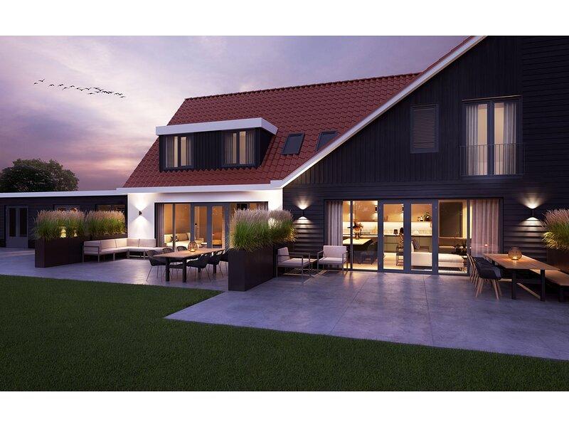 Modern 8-person villa in De Cocksdorp, Texel, location de vacances à Den Burg