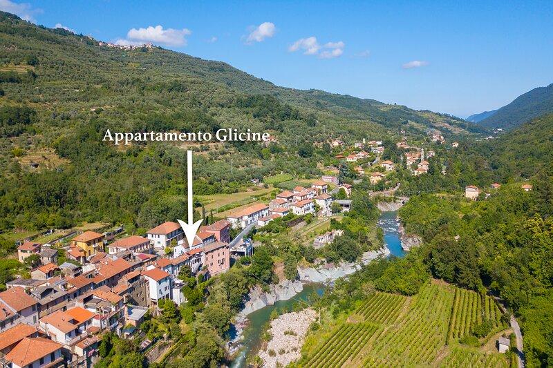 Appartamento Glicine, holiday rental in Cantone