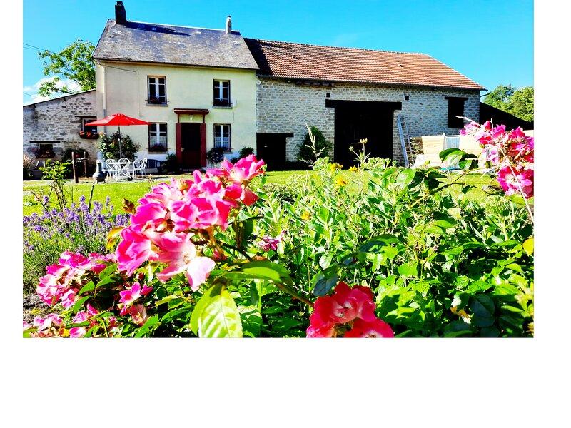 COTTAGE DE LA ROSERAIE' dans 'La Vallée des Peintres', holiday rental in Saint-Sebastien