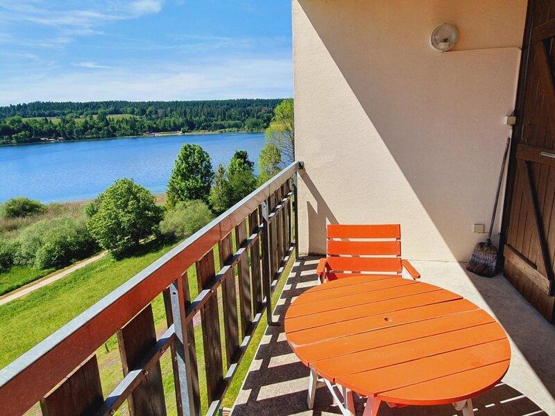 Studio rénové pour 2 personnes avec vue sur le Lac Saint Point, location de vacances à Oye-et-Pallet