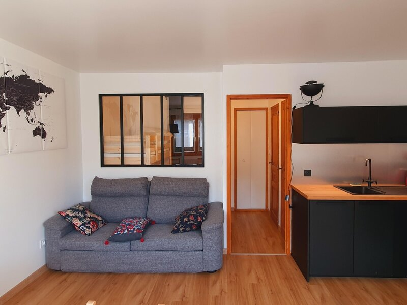 studio 4 personnes - front des pistes, holiday rental in Metabief