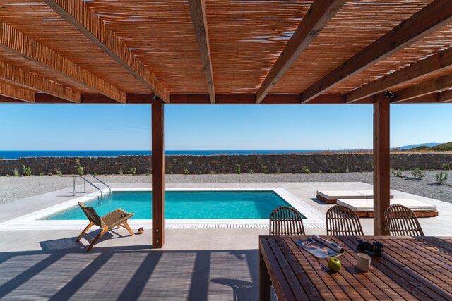 Terra d'Oro Sea view villa with private pool, holiday rental in Kiotari