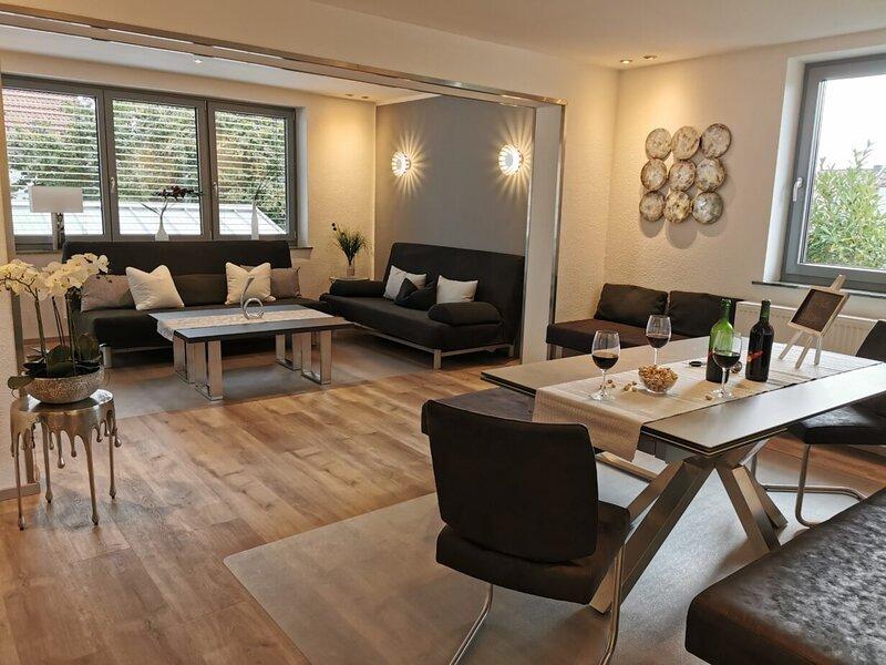 Für die große Familie mit 9-12 Personen - Gruppenurlaub Nähe Heidelberg, holiday rental in Worms