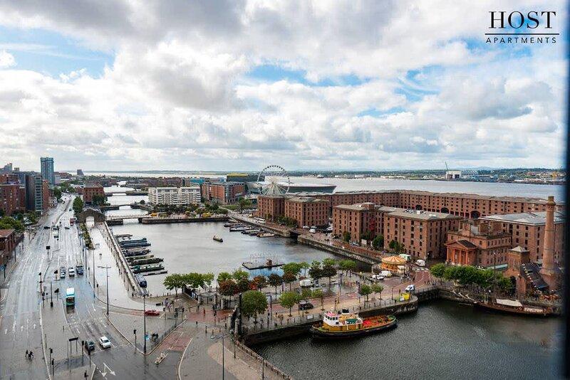 Waterfront Apartment Albert Dock Views, casa vacanza a Wallasey
