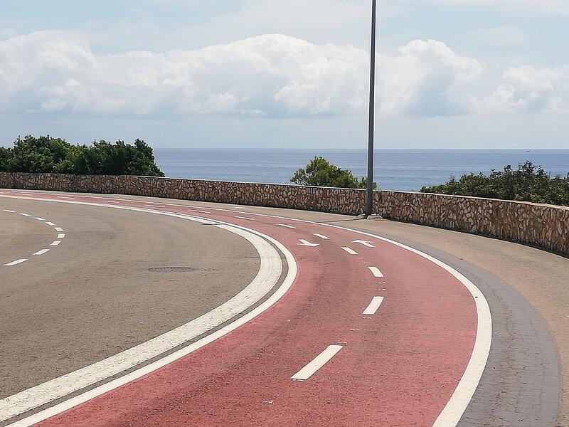 Paseo carril bici.
