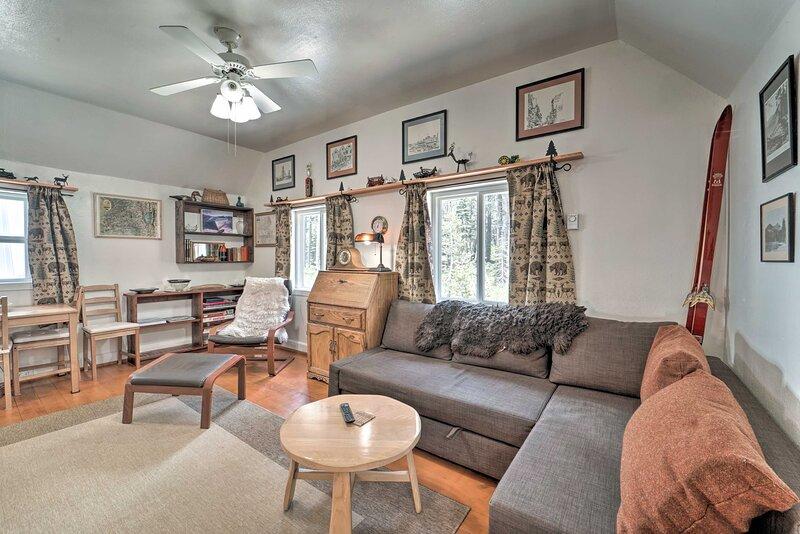 NEW! Cozy Cabin < 1 Mi to Soda Springs Mtn Resort – semesterbostad i Soda Springs