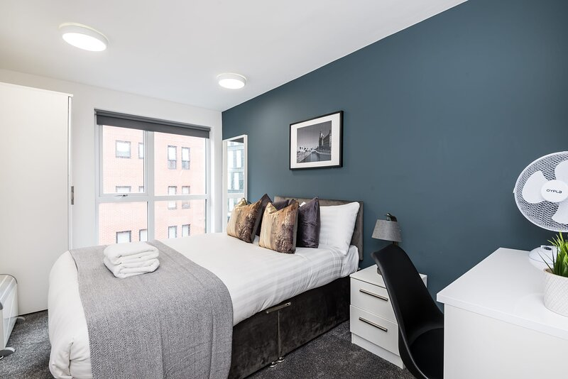 All the comforts of home in all bedrooms with an ensuite! Comes with a very convenient work desk and a lovely viewing window.