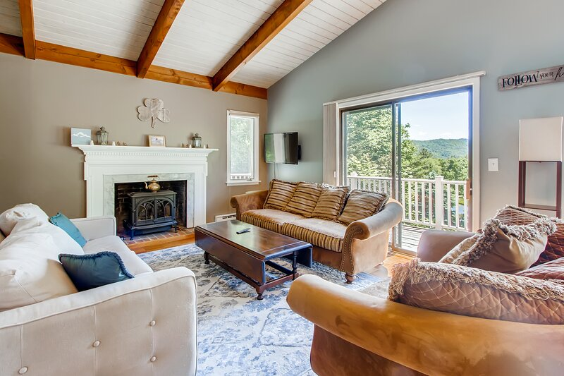 Silver Spring Chalet, alquiler vacacional en Pittsfield