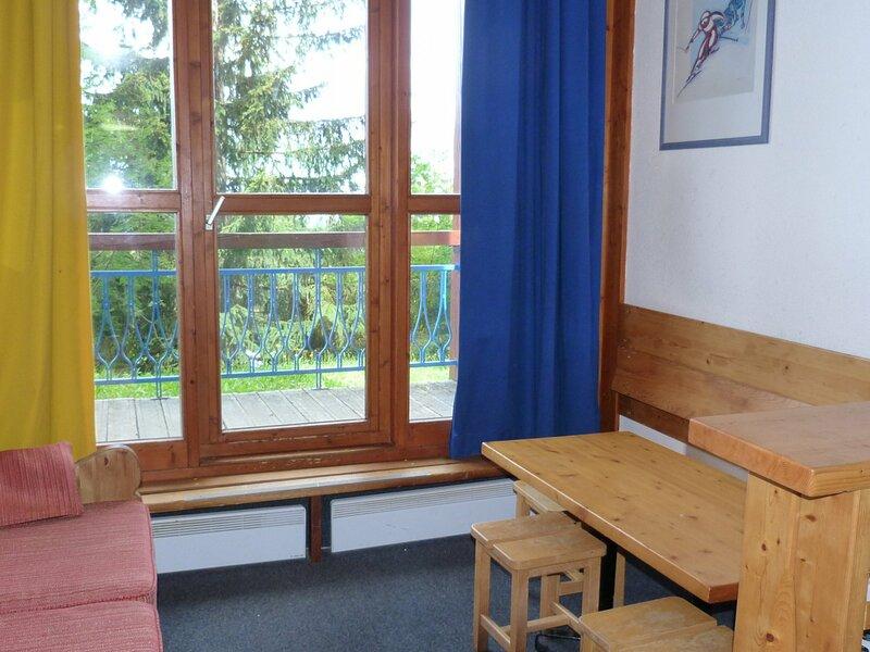 Studio 4 personnes  à Arc 1800 proche des pistes dans le village de Charmettoger, holiday rental in Vallandry