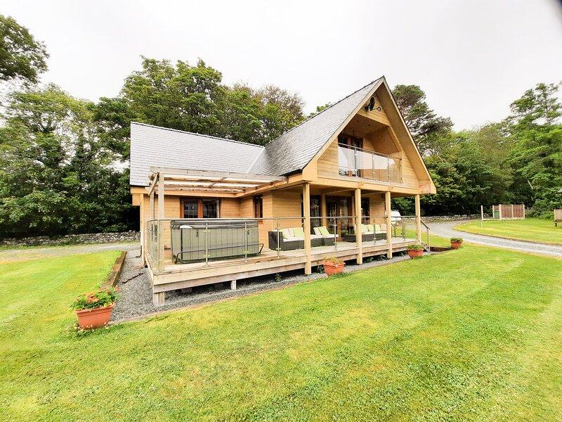 Cedar Wood Lodge Executive, Llanbedr, aluguéis de temporada em Llanbedr