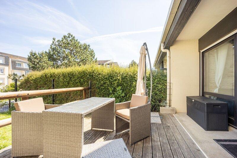 Galene - Appartement avec jardin à 700 m de la Plage, location de vacances à Fontaine-Henry