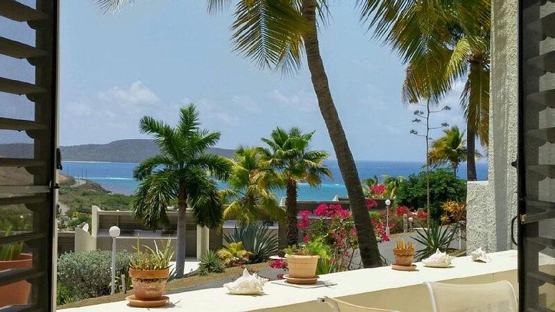 Tropical Escape! Condo on the Golf course-Ocean View - Beach-Pool-Tennis, holiday rental in Teague Bay