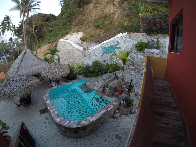 Incredible Beach House for up to 14 guests, Hidden Gem with private beach & Pool, holiday rental in Cabo Corrientes