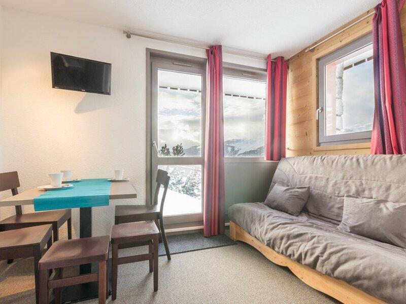 Studio Confort type chalet, près des pistes, alquiler vacacional en Montalbert