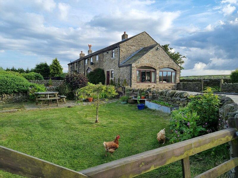 Cloudberry Farm Cottage, location de vacances à Grange Moor