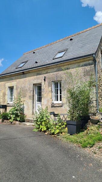 Très jolie maison, tout confort au cœur des vignes et des Châteaux de la Loire., holiday rental in Vernou-sur-Brenne