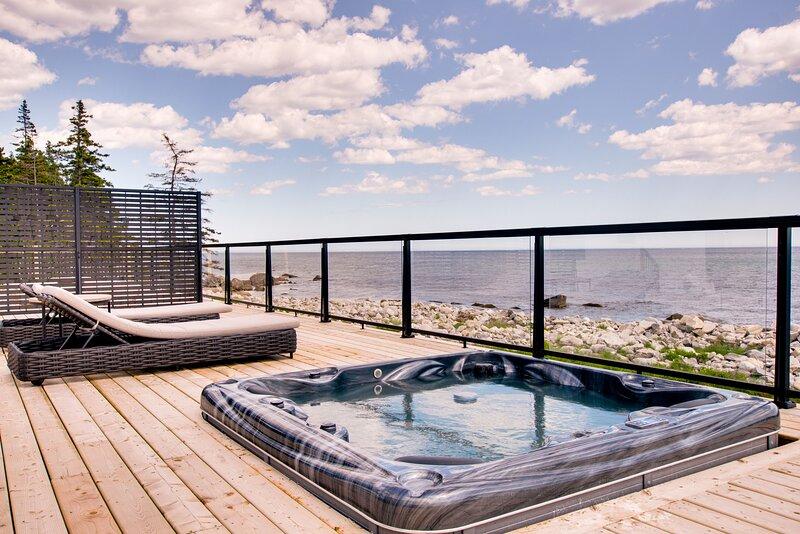 Peaceful Oceanfront Cabine, location de vacances à Hunts Point