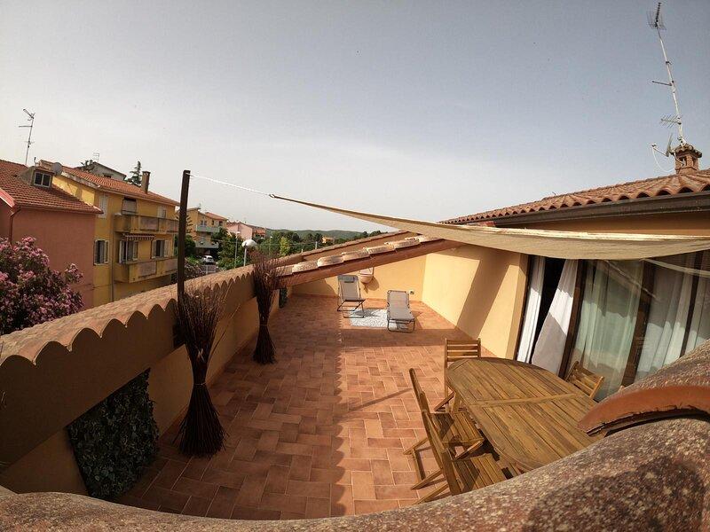 Open Space Rose, holiday rental in Villamassargia