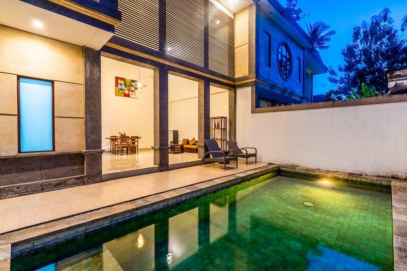 Full Moon Villa Ubud - 1bdr Deluxe with Private pool, location de vacances à Mas