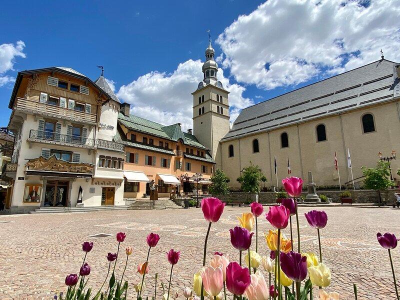 Centre village de Megève