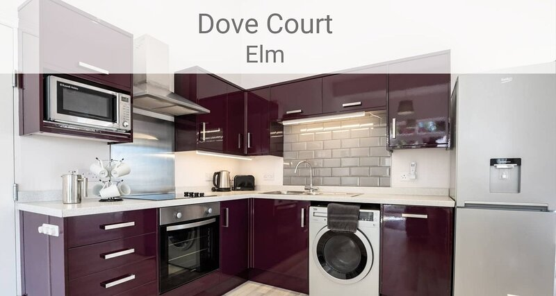 Elm Apartment, 2 bed first floor Apt with sea views, parking and free WIFI, location de vacances à Shanklin