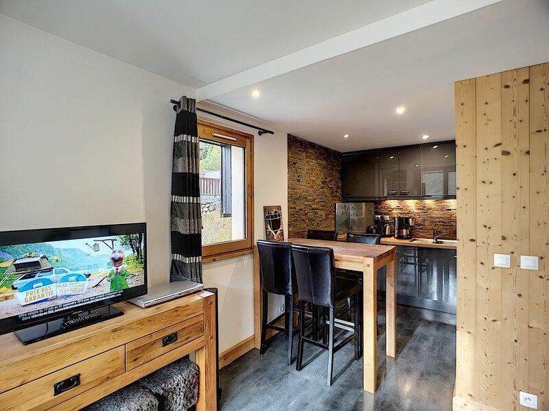 BIELLAZ 25 - Magnifique 3 pièces 6 pers 40m² , 2 chambres, ski aux pieds, wifi., casa vacanza a Les Bruyeres