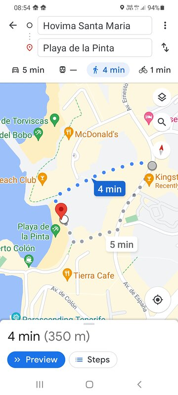 Only 4min walk to the nearest beach ⛱