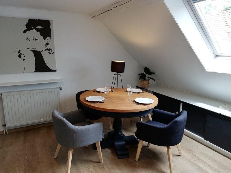 NOUVEAU - L'escale en Noir et Blanc - 4 personnes - Casino et Thermes à 100 m, location de vacances à Niederbronn-Les-Bains