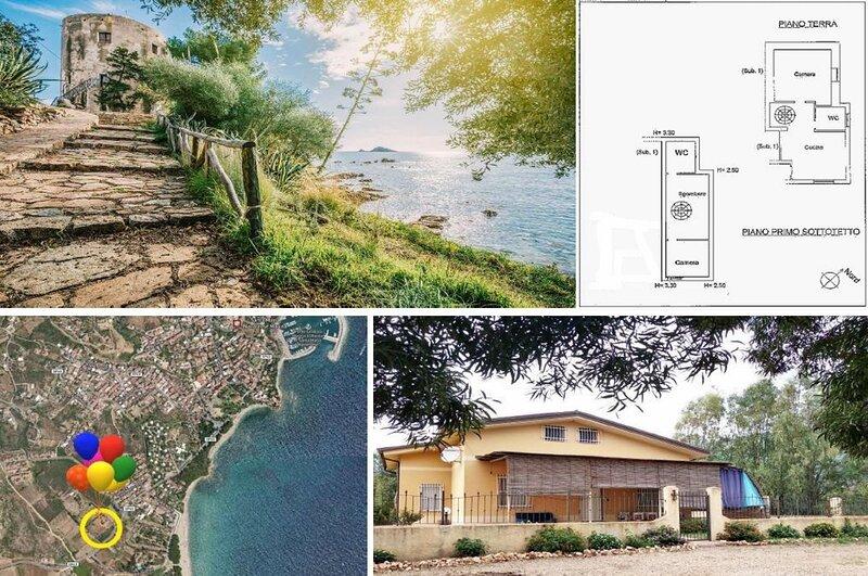 Casa Vacanze Relax, Green - BaseCamp Ogliastra, vacation rental in Baunei
