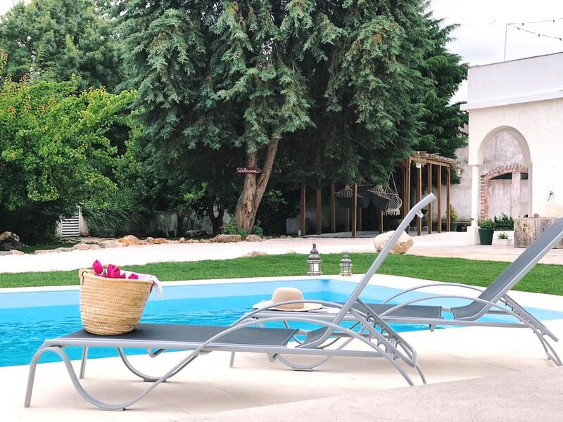 Private pool in the Garden - Piscina privada no jardim