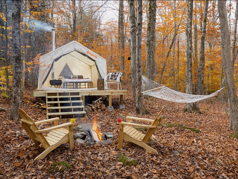 Tentrr Signature Site - Camping in the Woods of the Berkshires, holiday rental in Huntington