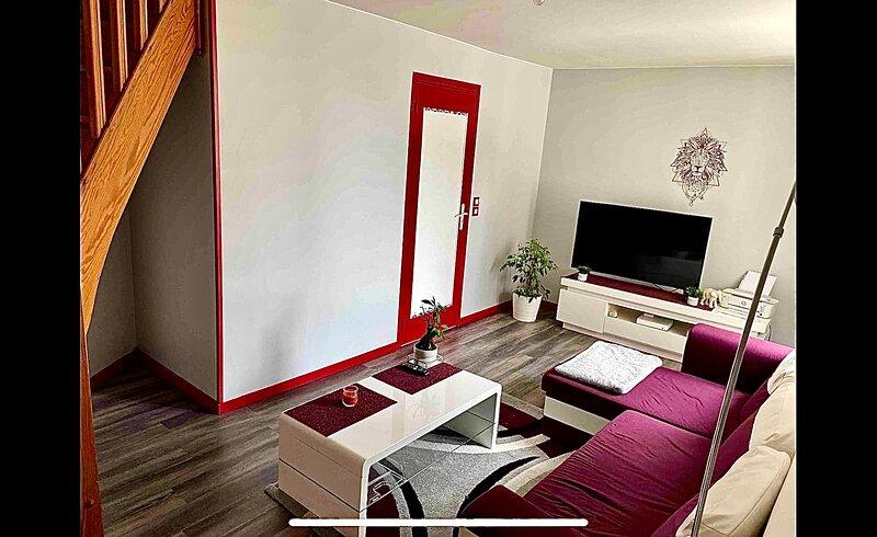 Duplex centre historique de Bayeux, location de vacances à Monceaux-en-Bessin