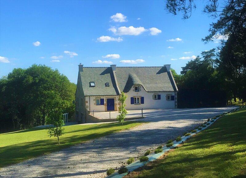 Le gîte de la Marion et sa piscine intérieure, holiday rental in Gourin