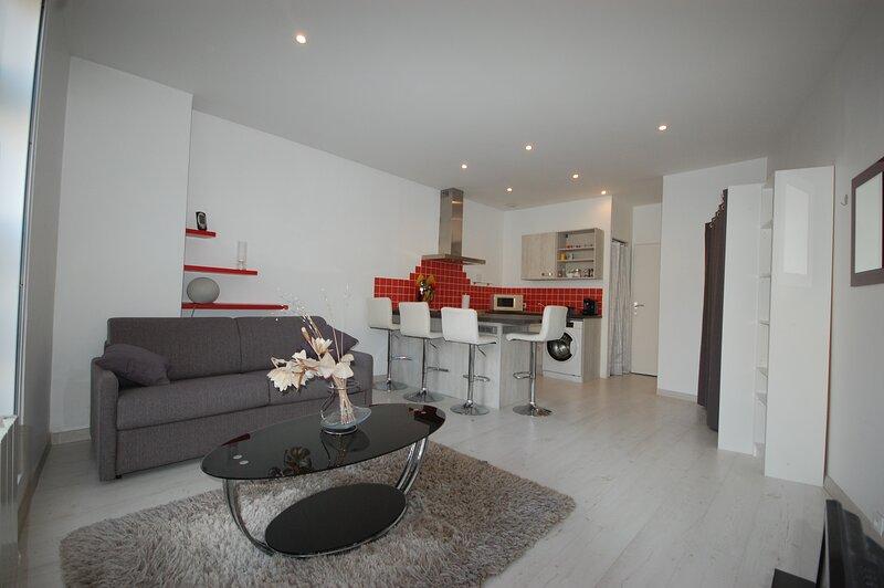 STUDIO 28 m² COEUR DE VILLE PROCHE DU PUY DU FOU, holiday rental in Jallais