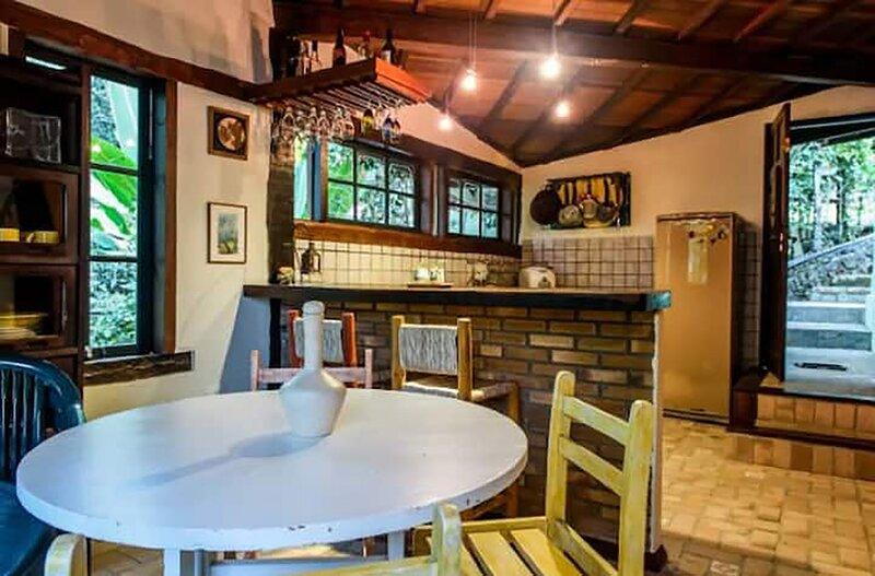 Casa com churrasqueira em Ilhabela São Paulo, casa vacanza a Ilhabela