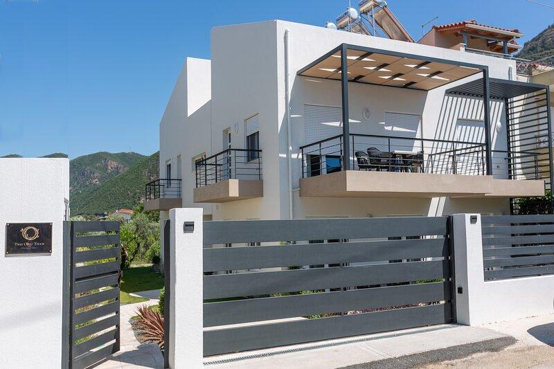 Two Olive Trees - 'Leaf' Apartment - 2 bedrooms, holiday rental in Agios Vasileios