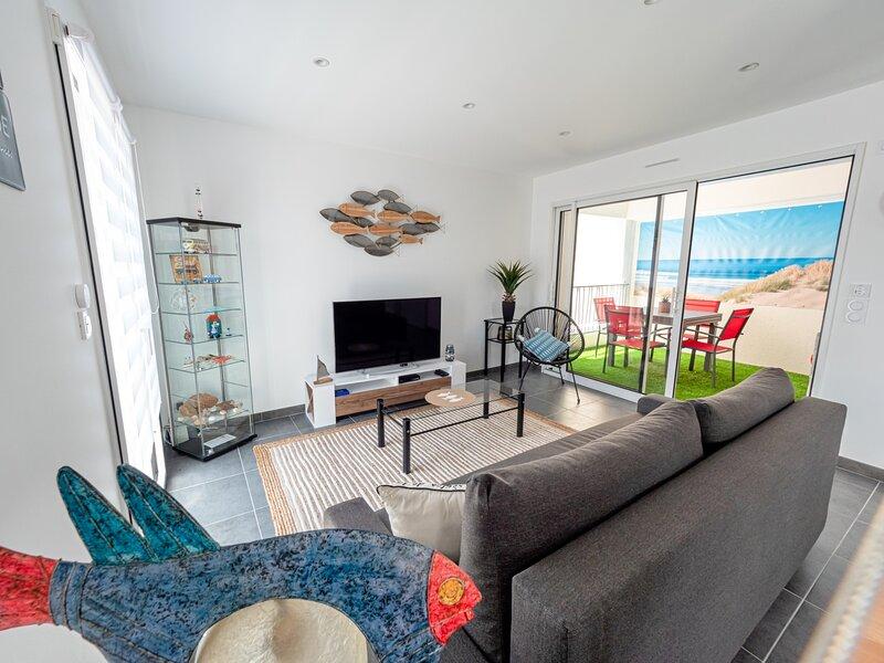 Splendide duplex deux chambres à louer sur SAINT GILLES CROIX DE VIE, alquiler vacacional en Croix-de-Vie