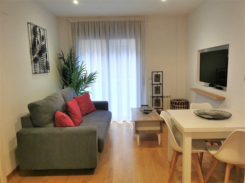 Pis modern a Girona centre amb pati, 2hab, Wi Fi, holiday rental in Cassa de la Selva