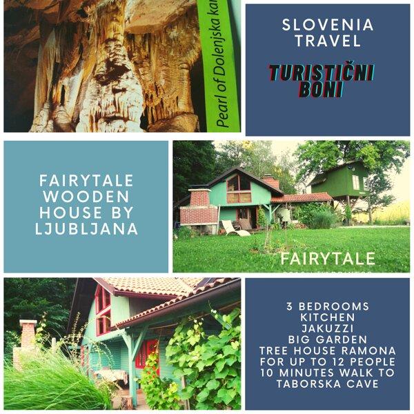 Fairytale Wooden house near Ljubljana very cheep- Matjazeva ponudba-fast interet, holiday rental in Ribnica