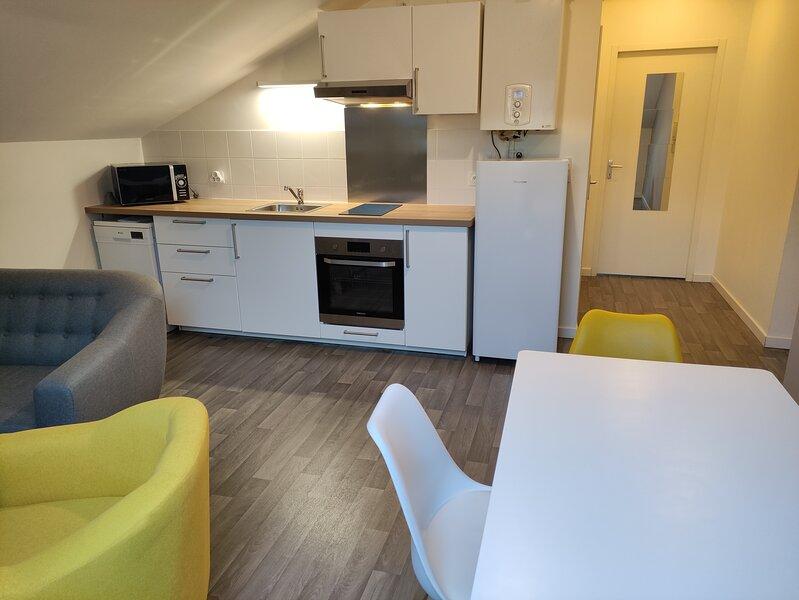 Appartement meublé T3, location de vacances à Mercy-le-Bas