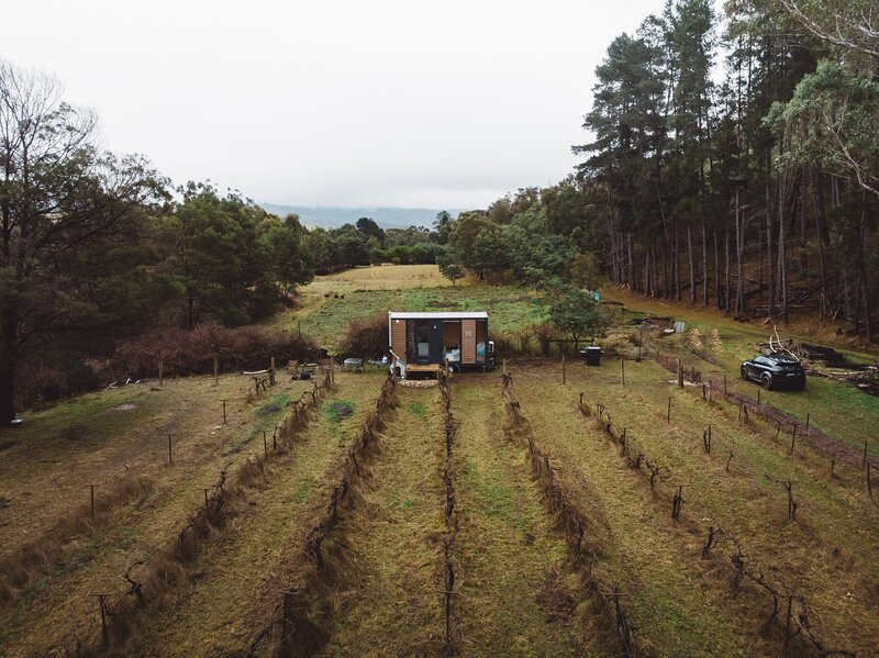 Alpaca Tiny House with Vineyard Lakeside, holiday rental in Kerrisdale
